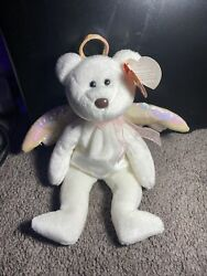 """Beanie Baby """"halo"""" Original 1998 With Brown Nose And Rare Tag Errors 1st Ed"""