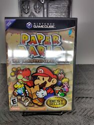 Paper Mario The Thousand Year Door Gamecube Factory Sealed Mint