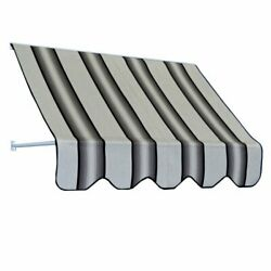 Americana Building Products Rb364799 Awning 4799 Grey Black White