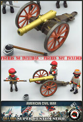 Cannon Playmobil Custom Western Napoleon War Secession Soldier Army West