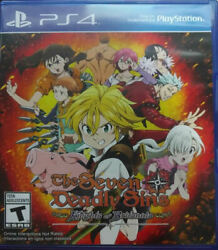 The Seven Deadly Sins Knights Of Britannia Ps4 New Playstation 4 Playstation 4