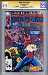 Marvel Team-up 130 Cgc 9.8 Ss John Romita Jr Vision And Scarlet Witch Top Census