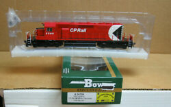 Bowser 24139 Ho Cp Rail Gmd Sd40-2 As Delivered 5568 W/lok Sound