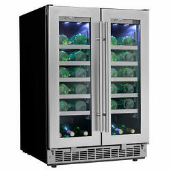 Danby Dwc047d1 24w 42 Bottle Capacity Built-in Wine Cooler - Stainless Steel