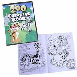 9x11 12pg Zoo Animal Coloring Book
