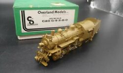 Overland Chesapeake And Ohio Ho Scale Brass G9 Consolidation Steam Locomotive