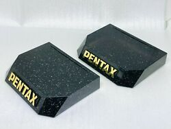 [rare 2 Pieces] Vintage Pentax Store Camera Lens Display Stand From Japan S027