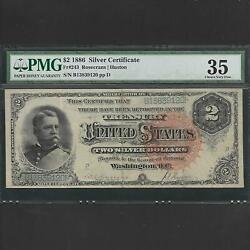 Fr 243 2 1886 Silver Certificate Pmg 35 Ships Free