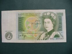 Great Britain One Pound Bank Of England