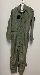 Coveralls Flyers Summer Fire Resistant Green Flight Suit Coveralls Flyers 42 Reg