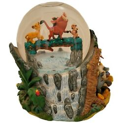 Retired Disney Lion King Collectible Musical Snow Globe