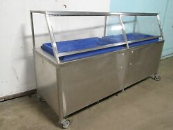 Universal Stainless Inc H.d.commercial Ice Bed/bath Cold Food Seafood Display