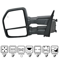Towing Mirrors For F-150 Pickup Truck 15-17pair Set
