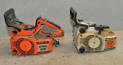 Stihl Model 009 Chainsaw Collectible Logging Tool Rebuilders Parts Or Repair Saw
