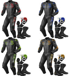 Kids / Adults Motorbike Motorcycle Suit Leather Racing Suit / Full Set