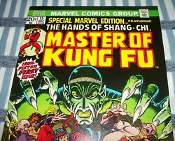 Special Marvel Edition 15 First Shang-chi Master Of Kung Fu Dec. 1973 In Vf-