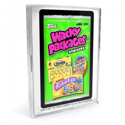 2021 Wacky Packages April Series 21 Card Base Set With Case