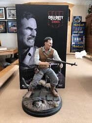 Edward Richtofen Origins Statue Box Included Call Of Duty Black Ops Zombies