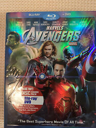 Marvels The Avengers Blu-ray/dvd 2012 2-disc Set Used