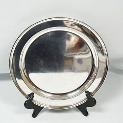 And Co Makers Sterling Silver 20188 M 13 Serving Tray Platter Large Round