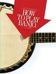 How To Play Banjo By Tim Jumper English Paperback Book Free Shipping