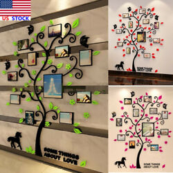 Removable Frames Tree Room Wall Sticker Decals Office Home Family Photo Decor