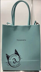 And Co. Shopping Tote Bag Small Leather Cat Street Tokyo Excellent Handbag