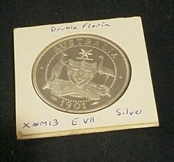 1901 Silver Pattern Proof Double Florin Ina Spink Edward Vii Very Rare 1 Of 750✨