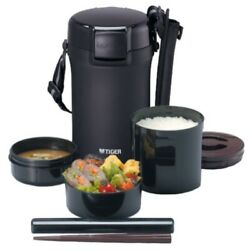 Tiger Thermos Thermal Insulated Lunch Box Stainless Steel Lunch Jar Rice Bowl