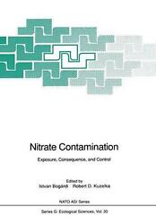 Nitrate Contamination Exposure, Consequence, And Control English Paperback Bo