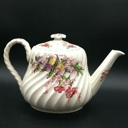 Spode Fairy Dell Large Teapot Ch6124