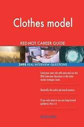 Clothes Model Red-hot Career Guide 2495 Real Interview Questions By Red-hot Car
