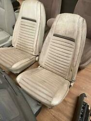 Front Seats 69 Ford Mustang Mach1 Fastback Local Pickup Only