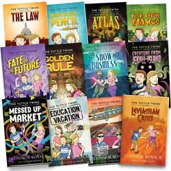 All New Tuttle Twins Series Complete 12 Book Set