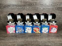 1999 Limited Edition Burger King 23k Gold Plated Pokemon Card Lot Of 6