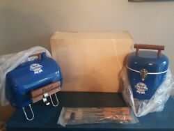 Pabst Beer Grill Cans Bottles Ice Chest Cooler Patio Outdoor Tailgating New Pbr