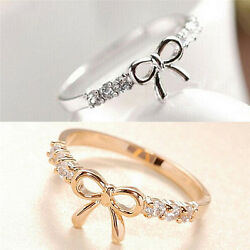 Hot Fashion Womensand039 Sexy Butterfly Jewelry Hot Simple Ladies Crystal Bow Yjs2