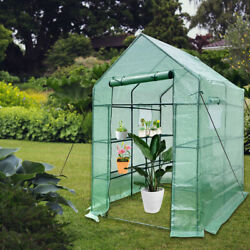 Green House 56 W X 56 D X 76 H Walk In Outdoor Plant Gardening Greenhouse