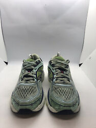 🙃new Balance 860 V7 Trufuse Blue Lime Running Shoes Womens Sz 8.5