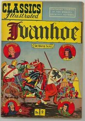 Classics Illustrated Ivanhoe 2 Hrn 89 - Shipped In A Box