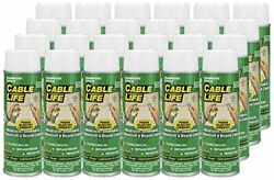 Protect All 25006-24 Cable Life Lubricant Aerosol 6.25 Fl. Oz. 24 Pack
