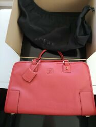 Loewe Real Lambskin And Calfskin Leather Handbags, Authentic, Brand New With Lock