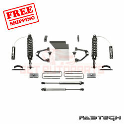 Fabtech 4 Budget Sys W/ Front Coilover And Rear Shocks For 14-17 Gm K1500 2wd/4wd