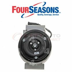 Four Seasons Ac Compressor For 2005 Bmw 320i - Heating Air Conditioning Vent Te