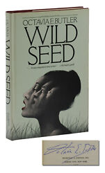 Wild Seed Signed By Octavia E. Butler First Edition 1st Printing 1980