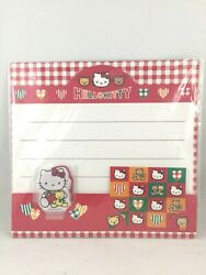 Sanrio Hello Kitty Letter Set W/stickers And Charm 1996 New Japan Stationary