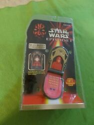 Star Wars Episode 1 Queen Amidala Compact Phone New Sealed