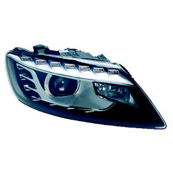Au2503158 New Driver Side Head Lamp Assembly Hid W/o Curve Lighting