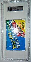 1970 Way Out Wheels Card Pack Graded Gai 8 Nm-mt Topps