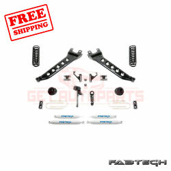 Fabtech 5 Radius Arm Syst W/coil Springs And Shocks For 13-17 Ram 3500 4wd
